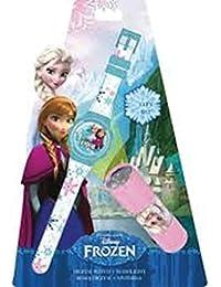 Disney Digitaluhr + Taschenlampe, Motiv Frozen