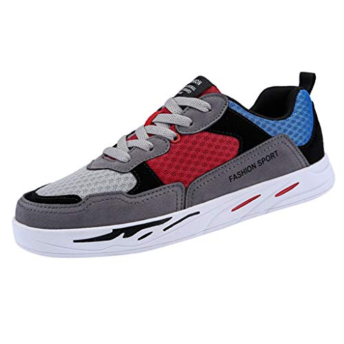 MMLC_Scarpe Uomo, Sneakers Running Basse Uomo Scarpe da Ginnastica da Passeggio Scarpe Casual Traspirante Scarpe da Corsa Moda Unisex