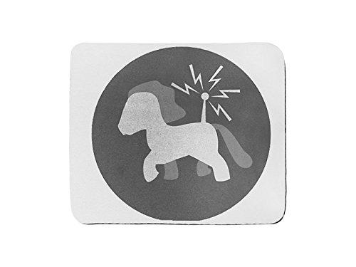 Maus Pad Rechteck der Pony einfache Roboter