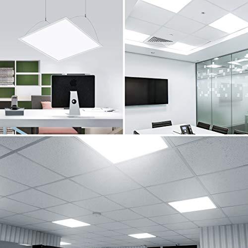 Neon Sospensione Per Ufficio.Le Pannelli Led 36 W Pari A Neon Da 80w 3200 Lm Luce A Sospensione