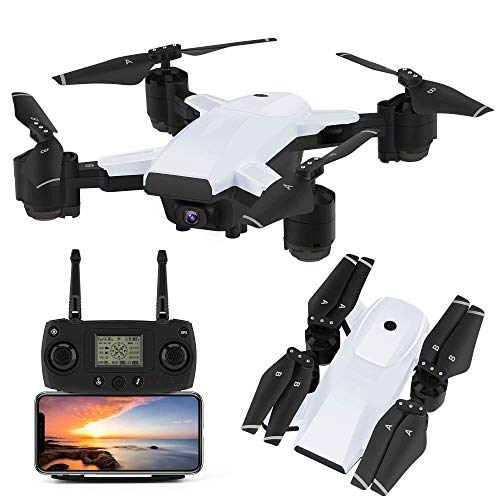 WZC Zumbido 78G 5G Cámara Rc Plegable 1080P Hd Quadcopter,Sígueme,Regreso