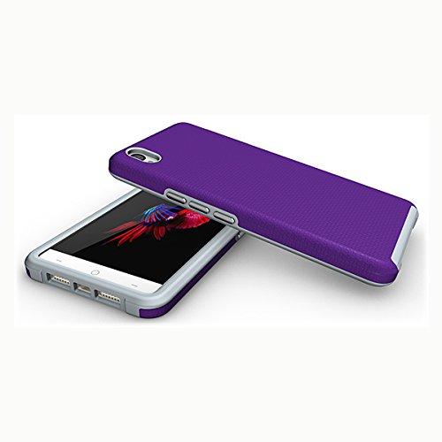 Slynmax Coque OnePlus X Violet Coque OnePlus X Mode Housse T Slim Bumper Souple Silicone Etui Housse de Protection Flexible Soft Case Cas Couverture Anti Choc Ultra Mince Légère Coque OnePlus X