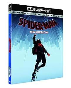 Spider-Man : New Generation [4K Ultra HD + Blu-ray 3D + Blu-ray]