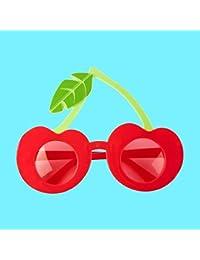 Sunnylife Lunette de Soleil - Cherry - Femme Rouge Cerise 1d6198d19e8f