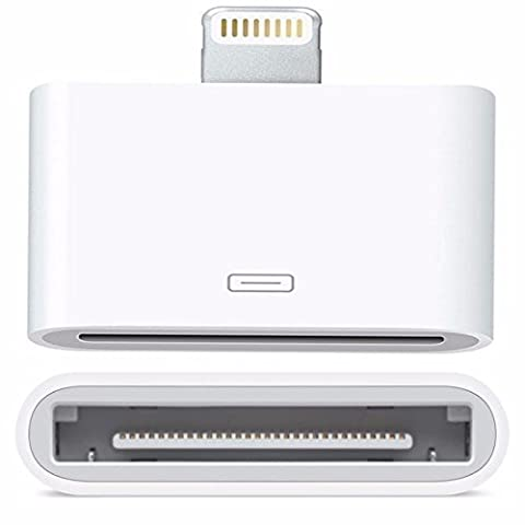 REALMAX® 30 Pin To 8 Pin Lightning Adapter for charging iPhone 5 5S 5C 6 6 Plus / iPad 4th Generation / iPad Mini / iPod Touch 5th Generation / iPod Nano 7th Generation