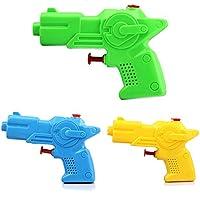 Isuper Pistola de Agua,Lanzador de Agua,Lanzador Mini Juquete para Verano para niños 2Pcs/Color Aleatorio