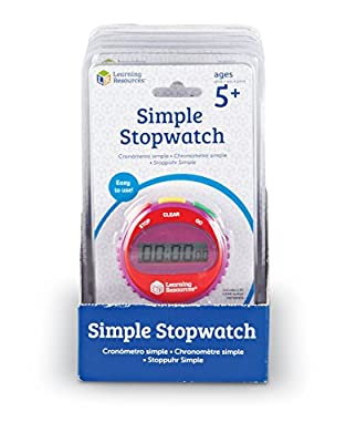 Learning Resources Simple Stopwatch (Set of 6) by Learning Resources (UK Direct Account)