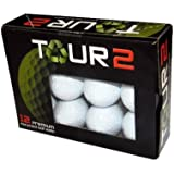 Tour 2 Recycled Titleist Nxt Golf Ball,12 Pack