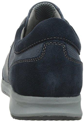 Geox U Avery A, Scarpe Low-Top Uomo Blu (Navy)