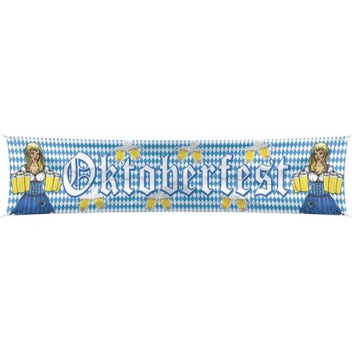 PARTY DISCOUNT NEU Banner Oktoberfest, 0,40 x 1,80 m
