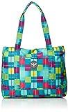 Chiemsee Damen Handtasche Shopper, Karo Blue Caba, 31 x 15 x 41 cm, 20 Liter, 5011034