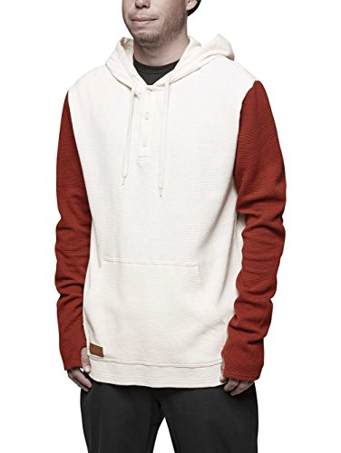 ThirtyTwo Handschuhe Dixon Thermo Hooded L/S S Dunkelweiß - L/s Thermal Henley