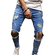 66b9f8f09e Amazon.it: pantaloni jeans strappati uomo