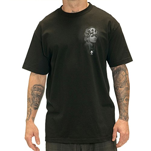 Sullen Clothing Herren T-Shirt - Garcia Badge Tattoo Tee Schwarz