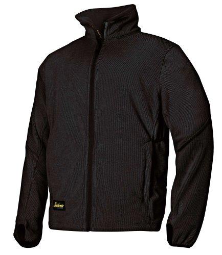 Snickers 8009 Fleece Jacke schwarz -schwarz