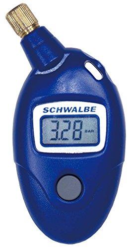 Schwalbe Airmax Pro - Misuratore Di Pressione per Bicicletta , Blu