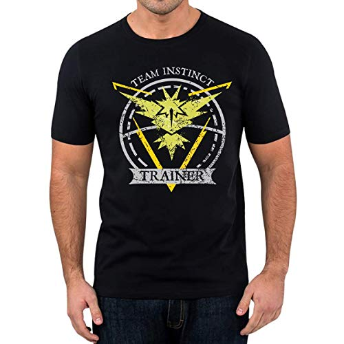 T-Shirt Team Instinct Fun Shirt Nerd Gaming Trendy (5XL)