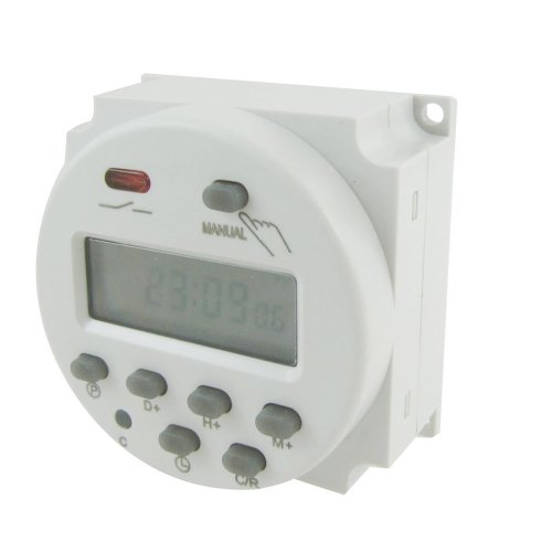 Price comparison product image SODIAL(R) DC 12V Digital LCD Power Programmable Timer Time Switch Relay 16A Amps