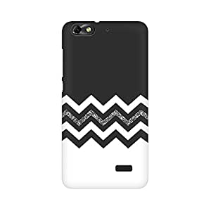 Mobicture Abstract Chevron Premium Printed High Quality Polycarbonate Hard Back Case Cover for Huawei Honor 4C With Edge to Edge Printing