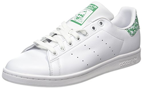 adidas Damen Stan Smith Laufschuhe, Mehrfarbig (Ftwr White/Ftwr White/Trace Blue F17), 38 EU (Comfort Smith Stan)