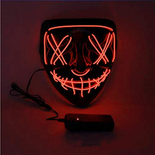 - Scary Maske Tragen