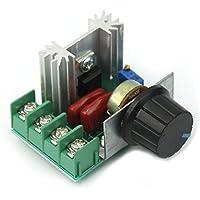 Tenflyer Nuevo regulador de voltaje ajustable PWM motor de CA de control de velocidad 50V-220V 2000W