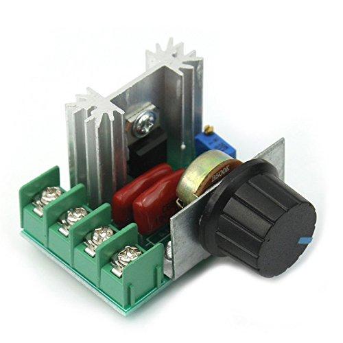 Hrph Neue einstellbare Spannungsregler PWM AC Motor Drehzahlregelung 50V-220V 2000W Wirkungsgrad Motor
