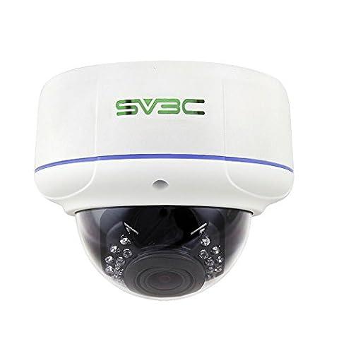 SV3C 1080P Full HD Poe IP Camera, Dome Indoor/Outdoor Security