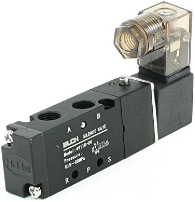 AC220V sola bobina 2 Posición 5 puertos 1/8