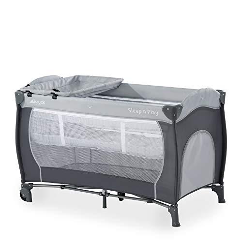 Hauck Sleep N Play Center - Cuna de viaje 7 piezas hasta 15 kg, altura recién nacido, con apertura...