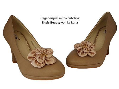 Femme Pumps + Set de chaussures 2paires Clips gratuit Beige - Beige