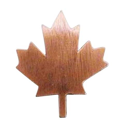 Copper ~ Canadian Maple Leaf ~ Lapel Pin / Brooch ~ AC129
