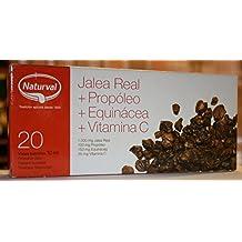 Jalea Real(1000mg)Propoleo(100mg)Equinacea(150mg) Vitamina C(20 mg) 20 Ampollas 10 ml