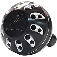 Gomexus Perilla de la Manija del Carrete para Shimano Stradic FJ 2000 3000 Sedona FI Freams 1000 - Carrete 4000 Carrete Direct Daiwa BG Penn Spinfisher Battle Abu Spinning Drill 38mm
