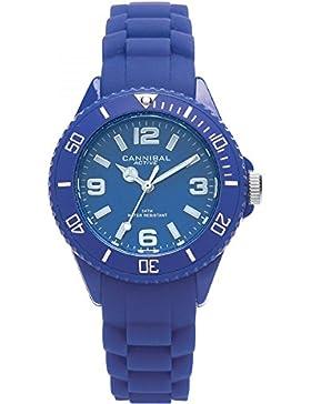 Cannibal Unisex-Armbanduhr Analog Silikon blau CK215-05