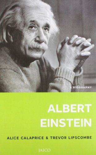 Portada del libro Albert Einstein: A Biography by Alice Calaprice (2012-06-01)