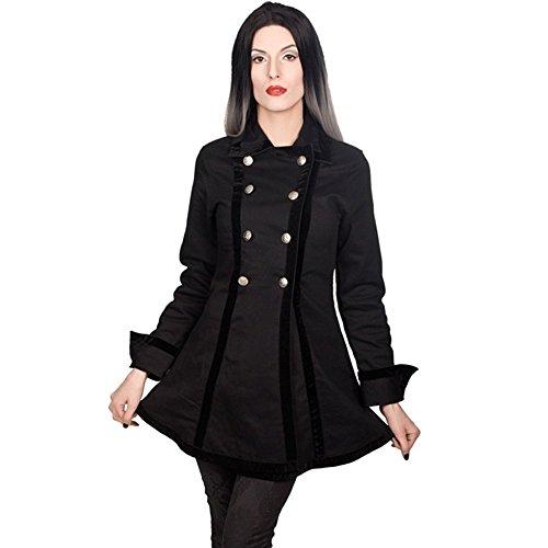 Jacket Denim Black (Größe S) (Lady Pirates)