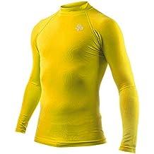 Soloporteros Camiseta Térmica Doble Densidad Amarillo Talla L