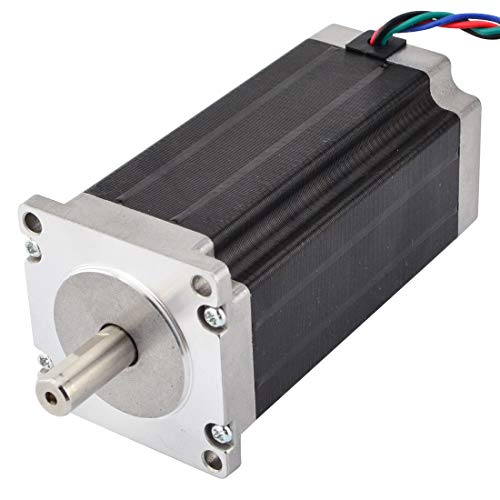 STEPPERONLINE Nema 23 Schrittmotor 3Nm 4,2 A 4-Draht 10mm Schacht für CNC Fräsen Drehbank Plasma -