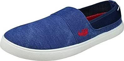 Flying Machine John Canvas Shoes (Blue