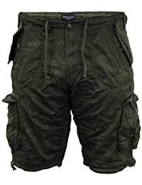 af0cda4eea Brave Soul Mens Camo Shorts Combat Cargo Military Army Seven Series Summer  New