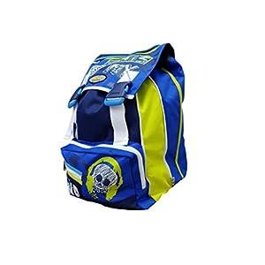 41aAtyz3CGL. SS300  - Seven Sound - Mochila Escolar Americana, 42 x 30 x 21 cm, Color Azul