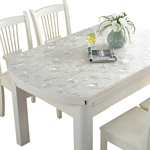 Transparent Bedruckte Tischdecke Pvc Softglas Tischmatte Wasserdicht Anti-Verbrühend Tragbare Tischdecke,2.0MM,95 * 150CM