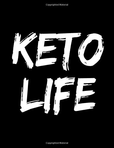 Keto Life: Blank Lined DIY Journal Notebook Composition Book For Women: Keto Diet Weight Loss Gift
