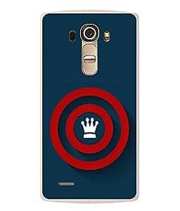 Fuson Designer Back Case Cover for LG G4 :: LG G4 Dual LTE :: LG G4 H818P H818N :: LG G4 H815 H815TR H815T H815P H812 H810 H811 LS991 VS986 US991 (Crown Circles red Circles Spheres ROunds)