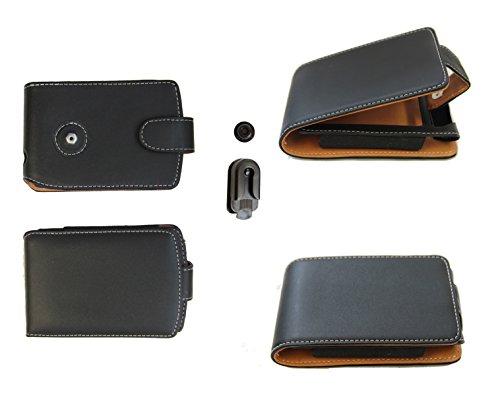 Ledertasche Palm 72: Tasche für Palm Palmone der Serien Zire 72 71 und Zire 21 31 - weitere kompatible Geräte Siehe Beschreibung. Mit Gürtelclip: Sicher stark und edel Palmone Zire 72-handheld