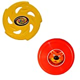 #7: Sunny cute Yellow and Red Flying Disc