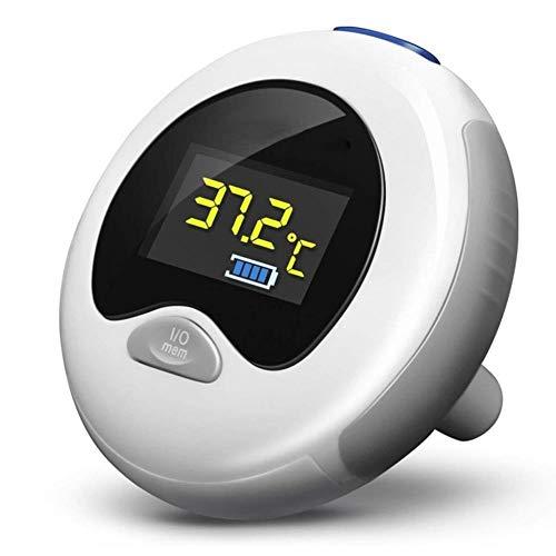 LZRZBH Digital-Ohr-Thermometer, Infrarotfieberthermometer Mit Klinischer Genauigkeit, Nicht Kontakt Körper-Thermometer For Baby, Kinder, Kinder Und Erwachsene