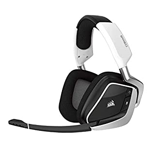 Corsair VOID PRO RGB Wireless Cuffie da Gioco per PC, senza Fili, Dolby 7.1, Bianco (B0749BFYY9) | Amazon price tracker / tracking, Amazon price history charts, Amazon price watches, Amazon price drop alerts