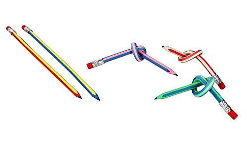 Yidarton 12x Biegebleistift biegsame flexible Bleistifte Biegebleistifte 18cm (Biegsamer Bleistift)